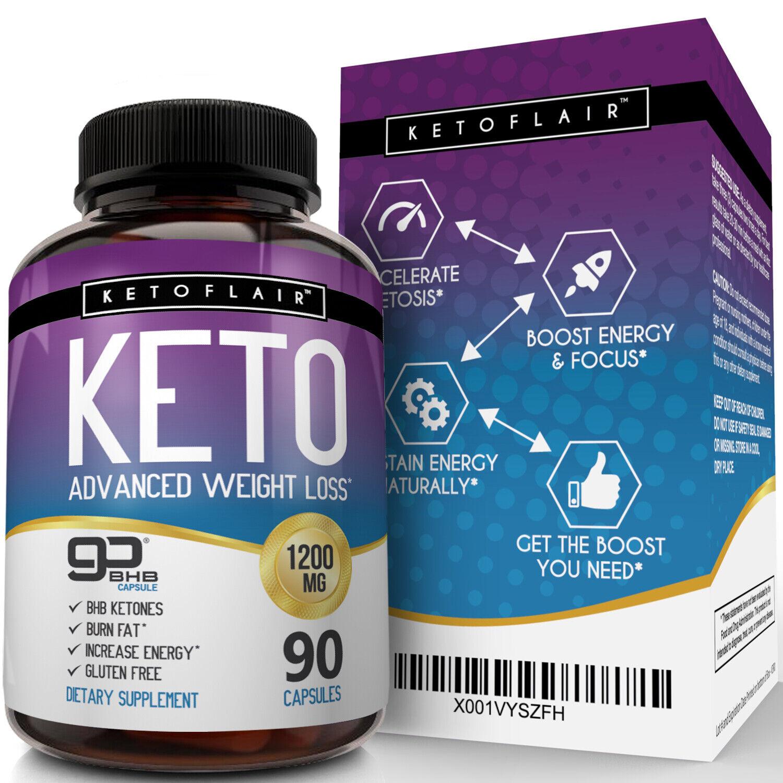 Best Keto Diet Pills 1200mg Gobhb 90 Capsules Weight Loss Perfect Fat Burner