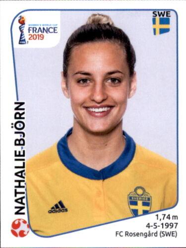 Schweden Panini Frauen WM 2019 Sticker 469 Nathalie Björn