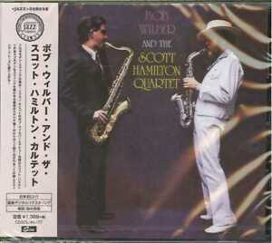 BOB-WILBER-WITH-THE-SCOTT-HAMILTON-QUARTET-S-T-JAPAN-CD-Ltd-Ed-C65