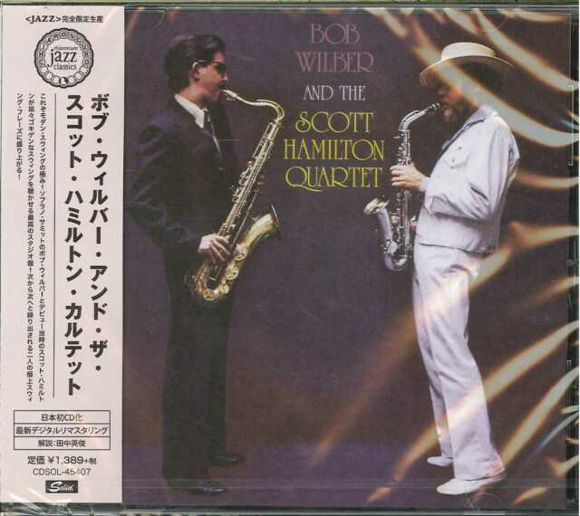 BOB WILBER WITH THE SCOTT HAMILTON QUARTET-S/T-JAPAN CD Ltd/Ed C65