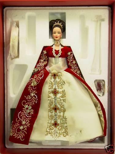 MATTEL 27028 BARBIE  -  Imperial splendor di Coloreergè (porcellana)   saldi