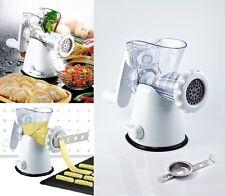 Manual Meat Mincer Grinder & Vegetable Shredder, Biscuit Machine Cookie Maker