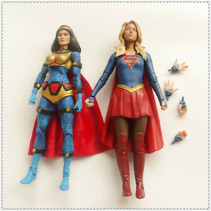 LOT-2-DC-Direct-Collectibles-TV-SUPERGIRL-DC-Universe-BIG-BARDA-Action-Figure-6-034