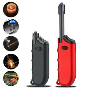 New-Creative-BBQ-lighter-USB-charging-Windproof-flameless-Electronic-lighters