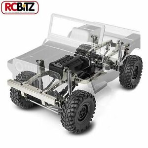 Gmade 10ème Détartreur Gs01 Jeep Sawback 4wd Kit Crawler Balance Feuille Willys Gm52000 8809366574031