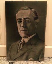RARE 1916 George Cartlidge Photographic Art Tile President Woodrow Wilson