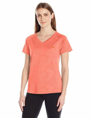 RRP £28 Helly Hansen Women/'s Selsli Short Sleeve Top T-Shirt