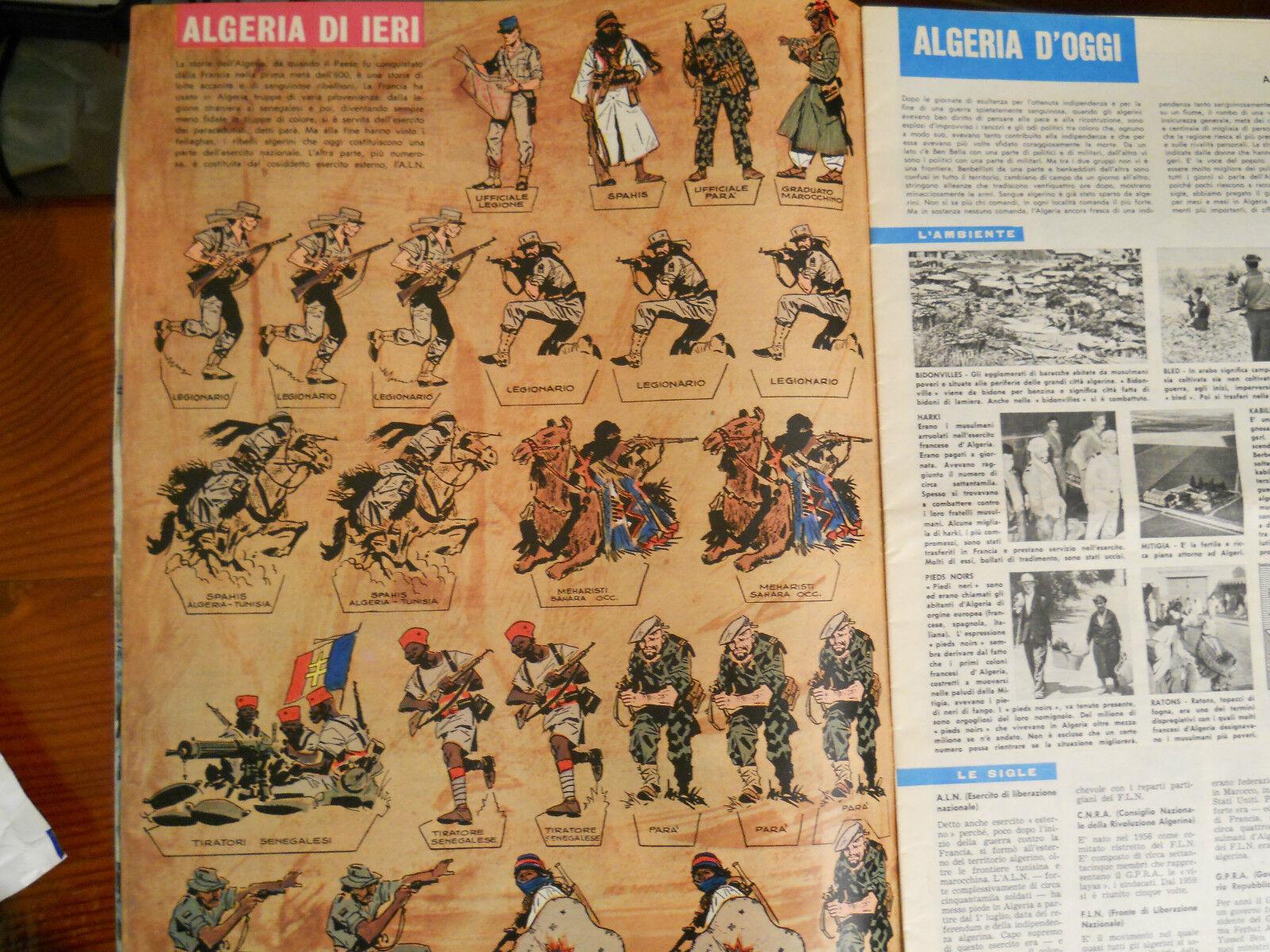 Corriere dei piccoli soldatini di HUGO PRATT Algerie lègion étrangèr ALN  '60