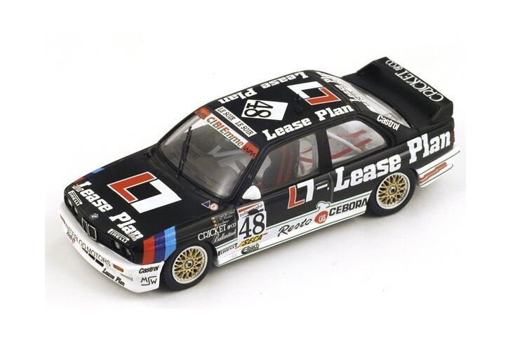 BMW M3 (E30) Van de Poele-Martin-Theys  Winner Spa  1987 (Spark 1 43  SB067)