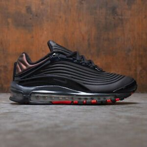 Nike Air Max Deluxe SE Men's New Black Anthracite Lifestyle Sneakers AO8284 001