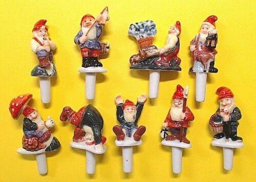 Figuren Spieße Kuchen die Noel von Zwerge Serie Komplett ref.H40