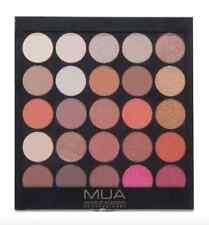 MUA Make Up 25 Shade Eyeshadow Palette Burning Embers Wine Red Autumn Brown Eye