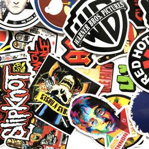 Lot-52-Random-Vinyl-Laptop-Skateboard-Stickers-bomb-Luggage-Decals-Dope-Sticker