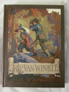 Rip-Van-Winkle-Washington-Irving-N-C-Wyeth-1921-Edition-David-McKay-Company