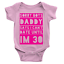 miniature 3 - Sorry Boys Can't Date Babygrow Funny New Born Baby Joke Daddy's Girl Gift