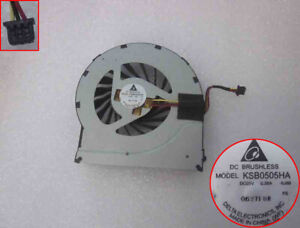 Original HP DV6 DV7 DV6-3000 DV7-4000 CPU Cooling Fan 637610-001 DFB552005M30T