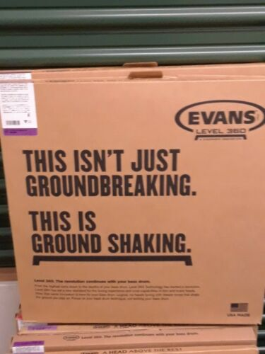 Evans EQ3 Bass Head Set 22 Inch
