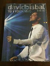 DAVID BISBAL TU Y YO EN VIVO - SPECIAL EDITION CD + DVD - NEW - NUEVO EMBALADO