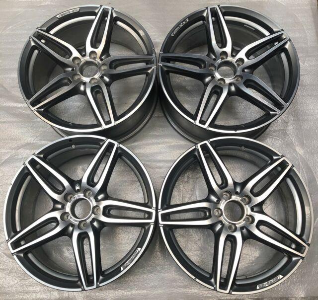4 Orig Mercedes - Benz AMG Alloy Wheels 8Jx19 ET43 A2134012000 E W213 V213 S213
