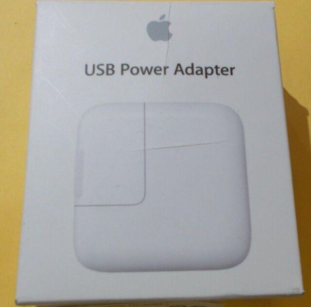 Apple USB Power Adapter 12W MD836LL/A  GENUINE