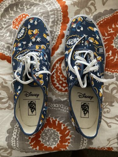 Donald Duck Vans Shoes Size 13- Perfect