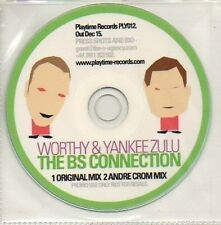 (710D) Worthy & Yankee Zulu, The BS Connection - DJ CD
