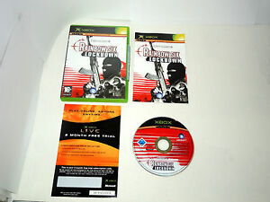 RAINBOW-SIX-LOCKDOWN-complete-in-box-with-manual-XBOX-videogame-PAL