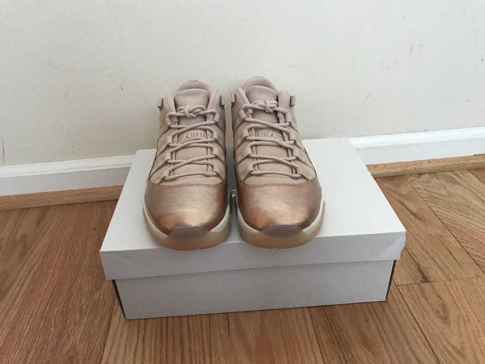 91f3e6e607d61d ... Nike Air Air Air Jordan 11 Low Metallic Rose Gold Red (AH7860-105) ...