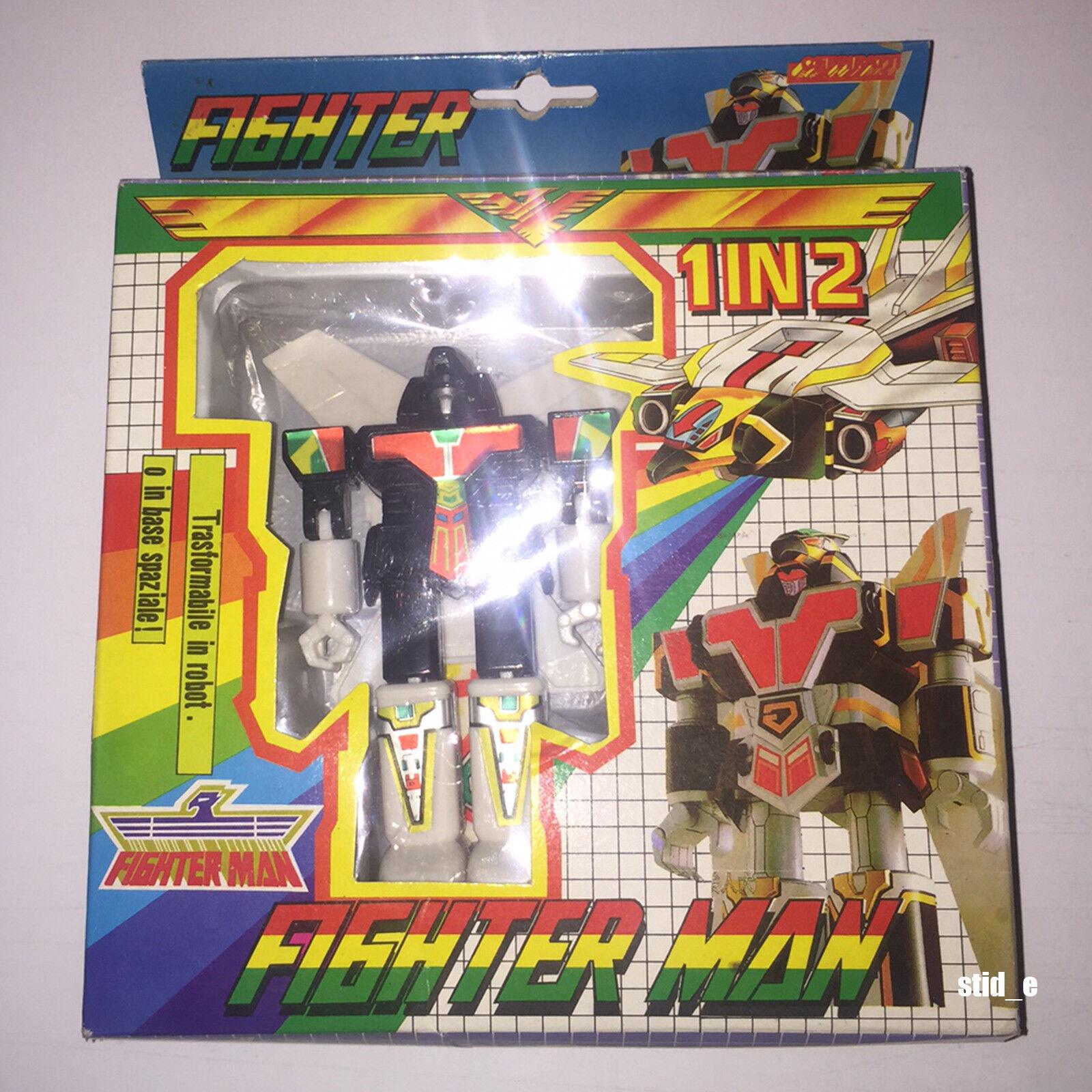 FIGHTER MAN 1 IN 2   SUPER SENTAI BOOTLEG KO JETMAN   '80 '90 TAIWAN   MIB NEW