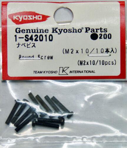 Kyosho 1-S42010 ronde Vis M2x10//10pcs