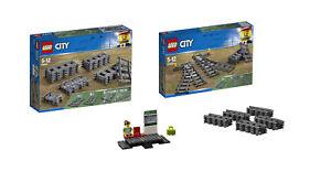 Ensemble de train urbain Lego® 60205 60238 60197 rails supplémentaires pour plate-forme