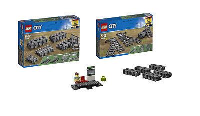 JEJA99 ** Lego Eisenbahn RC Schienen 1 Weiche NEU 60205 60051 60052 60197 60198