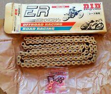 D.I.D Hi-Performance 520 ERT2 Clip Master Link Gold