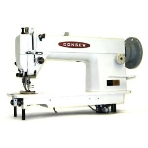 Consew 205rb 1 Walking Foot Top And Bottom Feed Upholstery Sewing