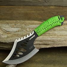 "10 1/2"" Tactical Tomahawk Green Throwing Axe Battle Hatchet Survival Emergency"