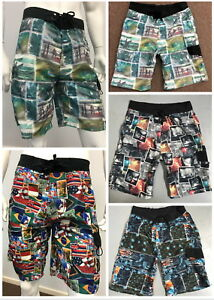 Mens-Surf-Beach-Swimming-Board-Shorts-FREE-Shipping-Size-30-to-Size-42