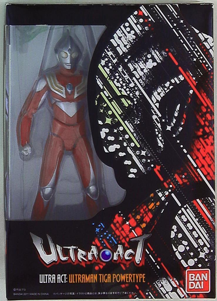 ULTRA-ACT Ultraman Tiga Power type Figure Bandai