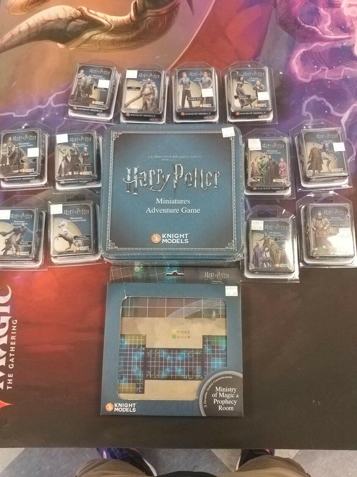 Lote de Juego de Miniaturas de Harry Potter