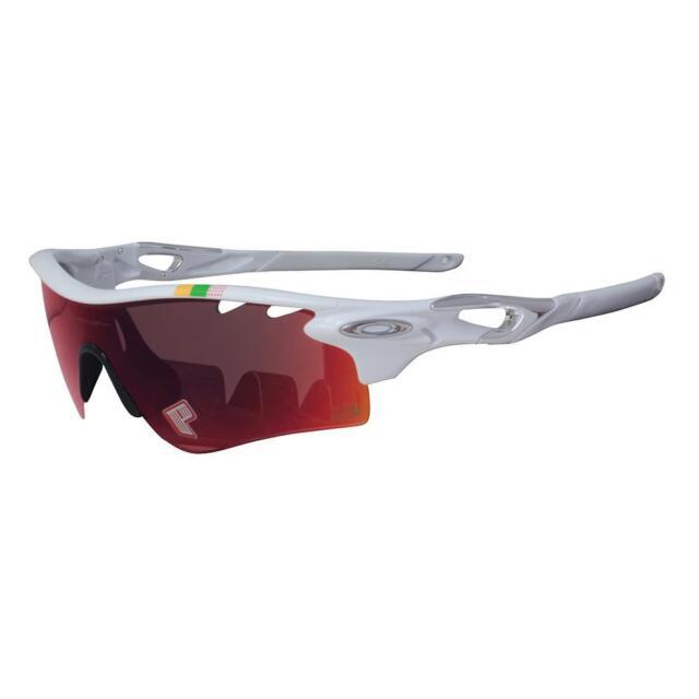 9089183550 Oakley POLARIZED OO 9181-32 RADARLOCK Tour De France Path White OO Red  Iridium .