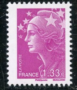 STAMP-TIMBRE-FRANCE-N-4237-MARIANNE-DE-BEAUJARD