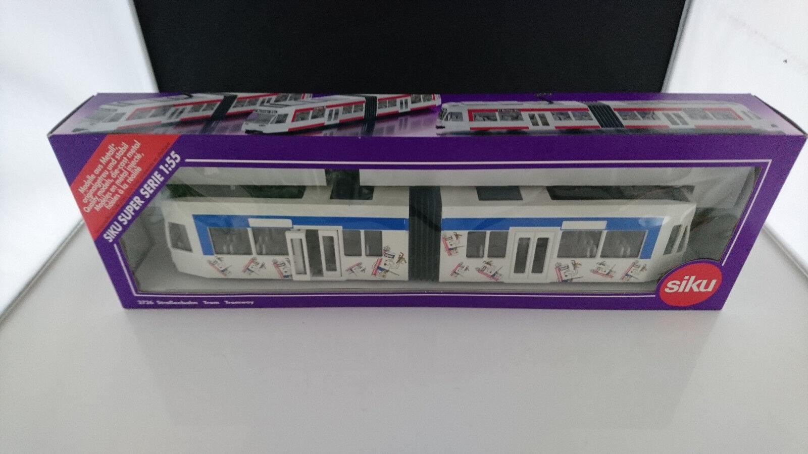 Siku 3726 Tramway Publicité modèle UPAT Nouveau neuf dans sa boîte