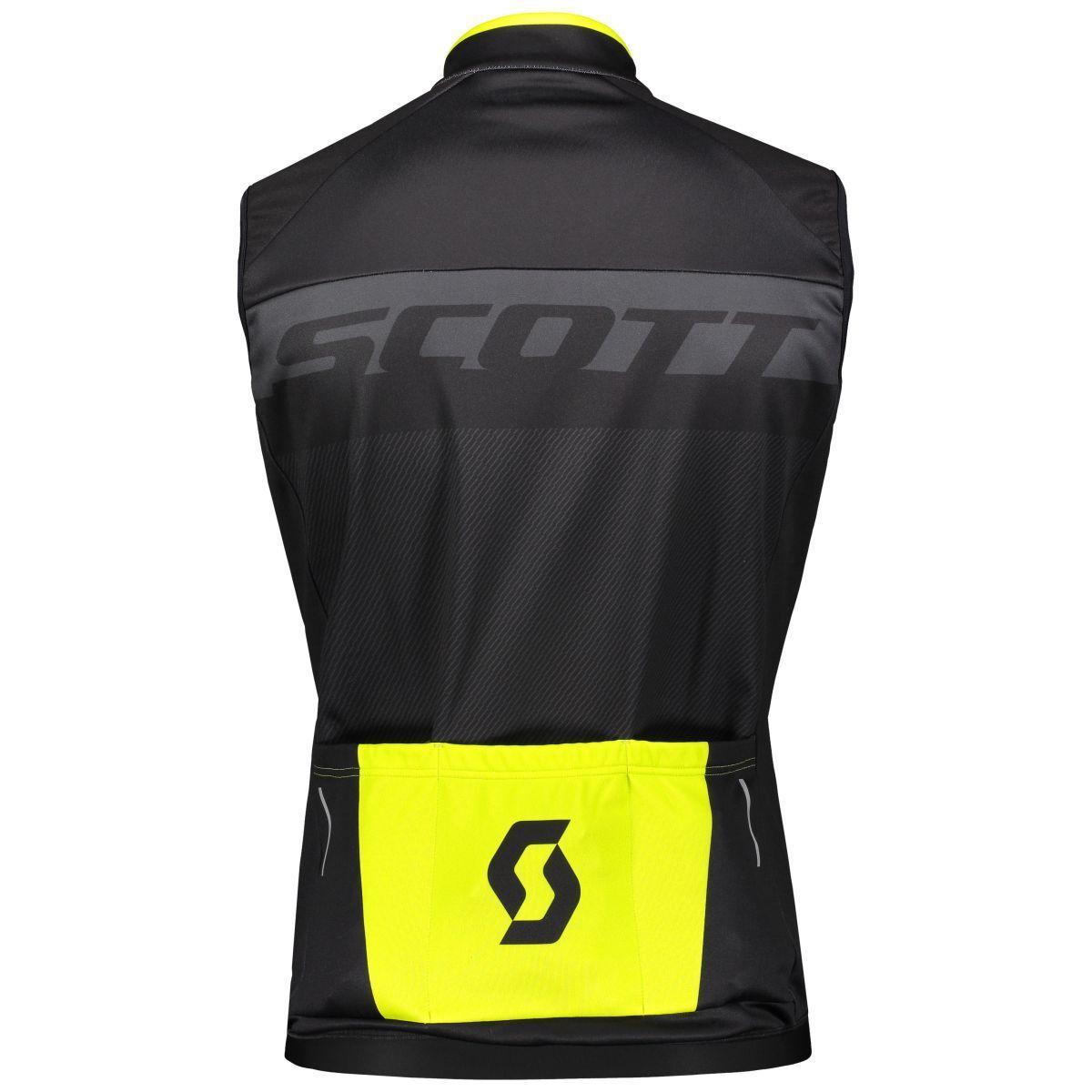Scott RC as as as bicicleta viento chaleco negro amarillo 2019 57cd84