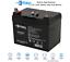 thumbnail 1 - Raion Power Marine Deep Cycle Battery AGM 12V 35Ah Battery for MINNKOTA Trolling