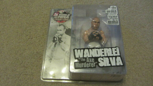 2008 Round 5 WANDERLEI SILVA Action Figure Series 2