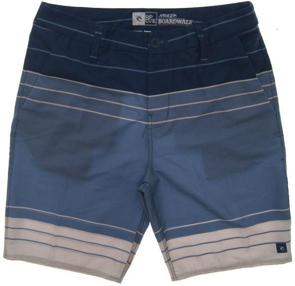 New Rip Curl CWA5ND Mirage San Quintin Boardwalk Men's stretch stripe size 34 36