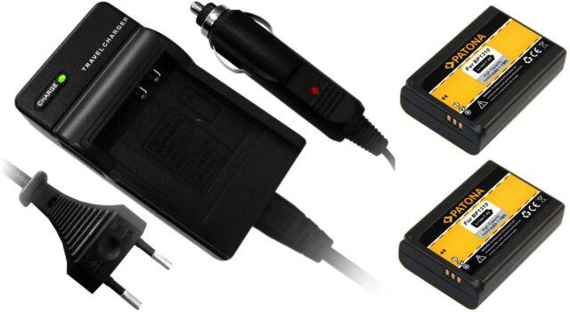2 x Akkus + Ladegerät für Samsung BP-1310, BP1310, NX5, NX10, NX11, NX20, NX100