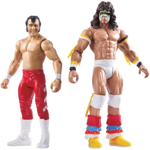 WWF WWE Ultimate Warrior Honky Tonk Man Battle Pack Wrestling Action Figure Toy