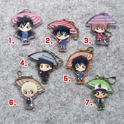 Detective Conan Furuya Rei Akai Shuuichi Bourbon Acrylic Keychain Keyring Rare N