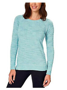 95bd48c5 Champion Ladies' High-Low Hemline Crew Neck Long Sleeve Tee / S ...