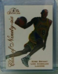 Kobe-Bryant-1996-97-Flair-Showcase-Class-of-039-96-4-Rookie-Rare-Mint-Hot-Kobe-rc